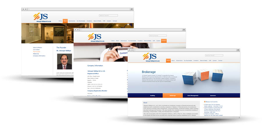 JSCL website developed by inspurate